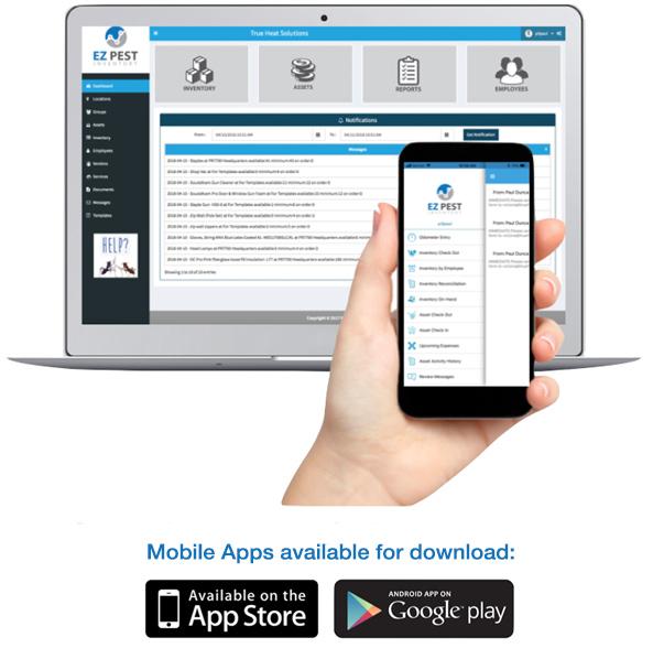 EZ Pest Inventory Mobile App
